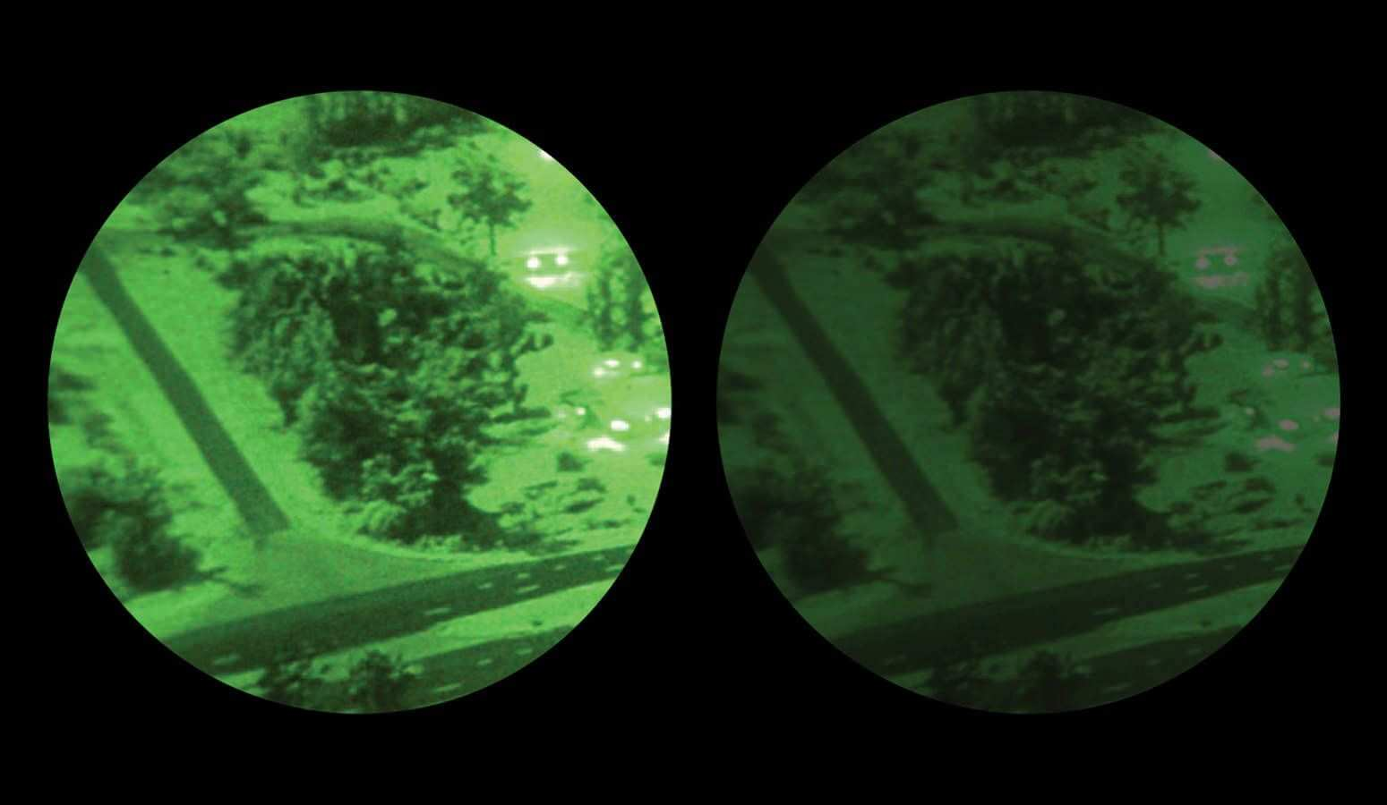 NVG Image Disparity