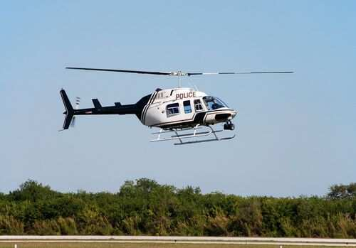 Law enforcement aviation benefits from night vision systems.
